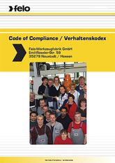 [Translate to RO:] Felo Werkzeugfabrik - Code of Compliance
