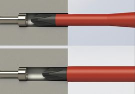 VDE Schraubendreher E-SMART slim von Felo - Slim vs Standard