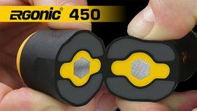 Ergonomisch in der Anwendung, schonend für die Gesundheit - Ergonic Serie 450