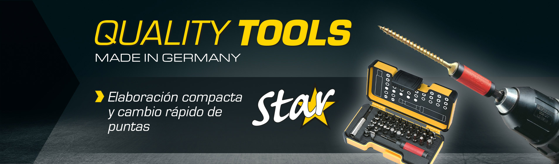 Porta-puntas STAR: la herramienta profesional que le permite girar y atornillar cualquier tipo de tornillo de manera más rápida, segura y económica