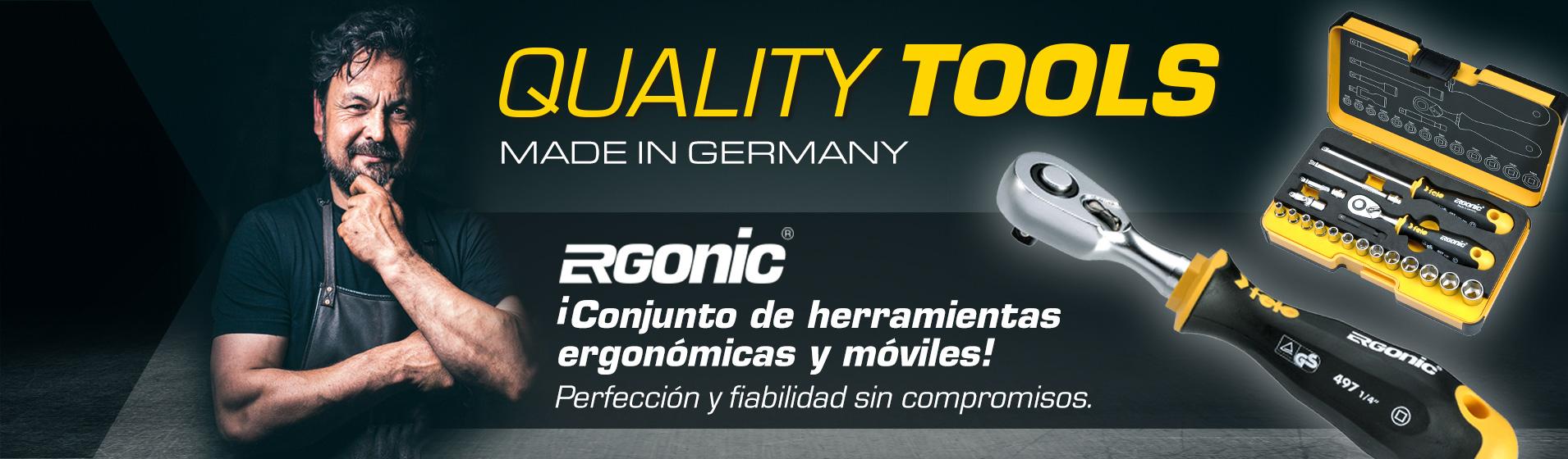 R-GO es el conjunto completo de herramientas ergonómicas y portátiles de FELO