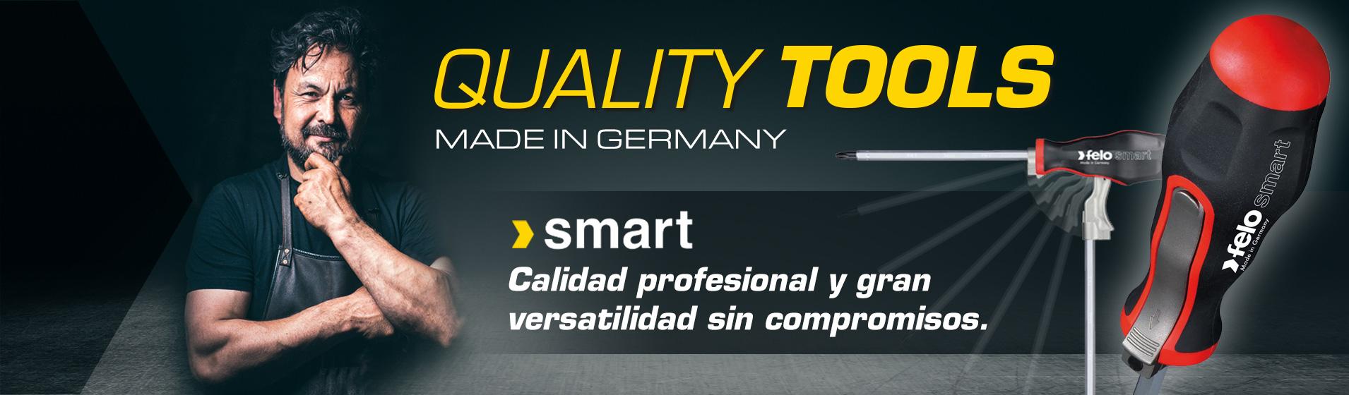 Destornilladores SMART de varilla intercambiable: calidad profesional y la mayor versatilidad sin compromisos