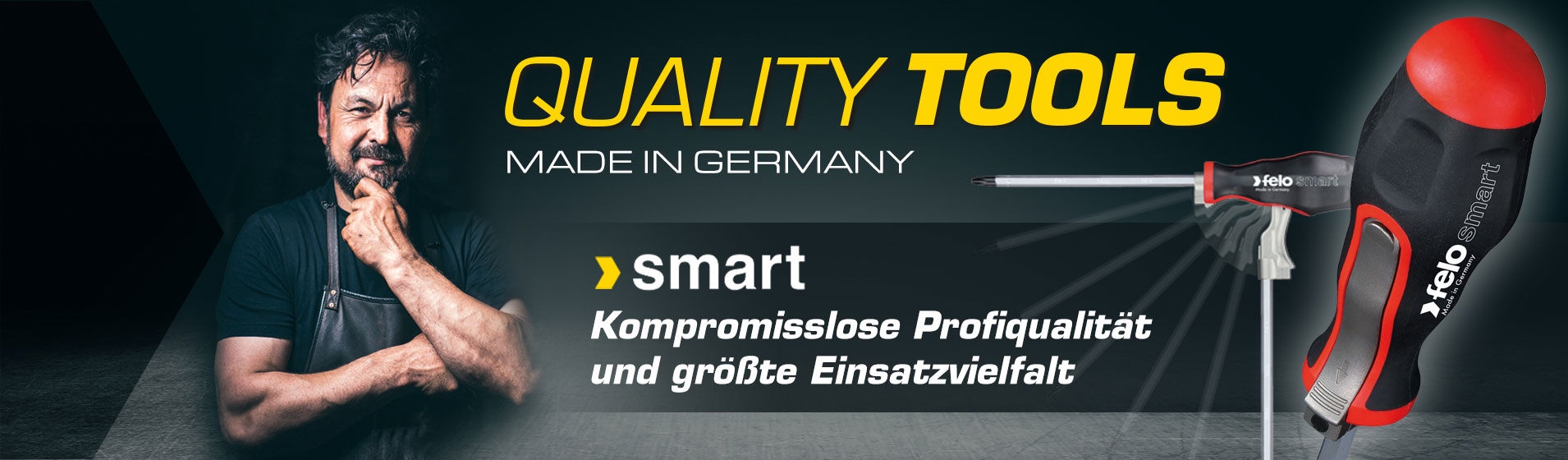 [Translate to HU:] SMART Schraubendreher - Profiqualität und größte Einsatzvielfalt dank T-Griff-Funktion