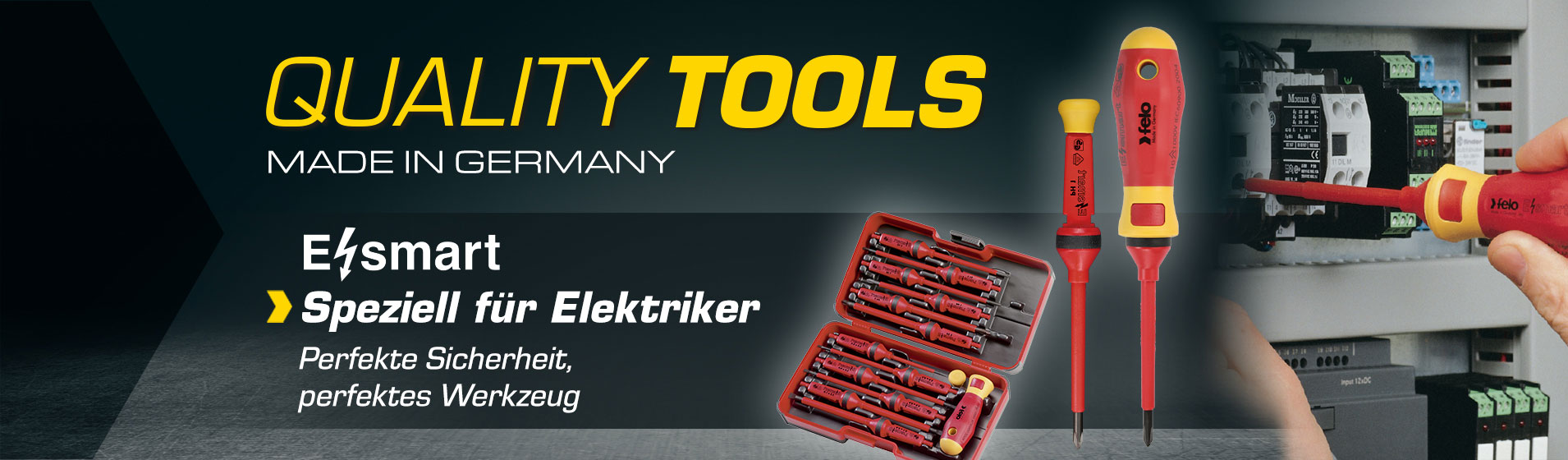 FELO E-SMART - Perfekte Sicherheit, perfektes Werkzeug speziell für Elektriker