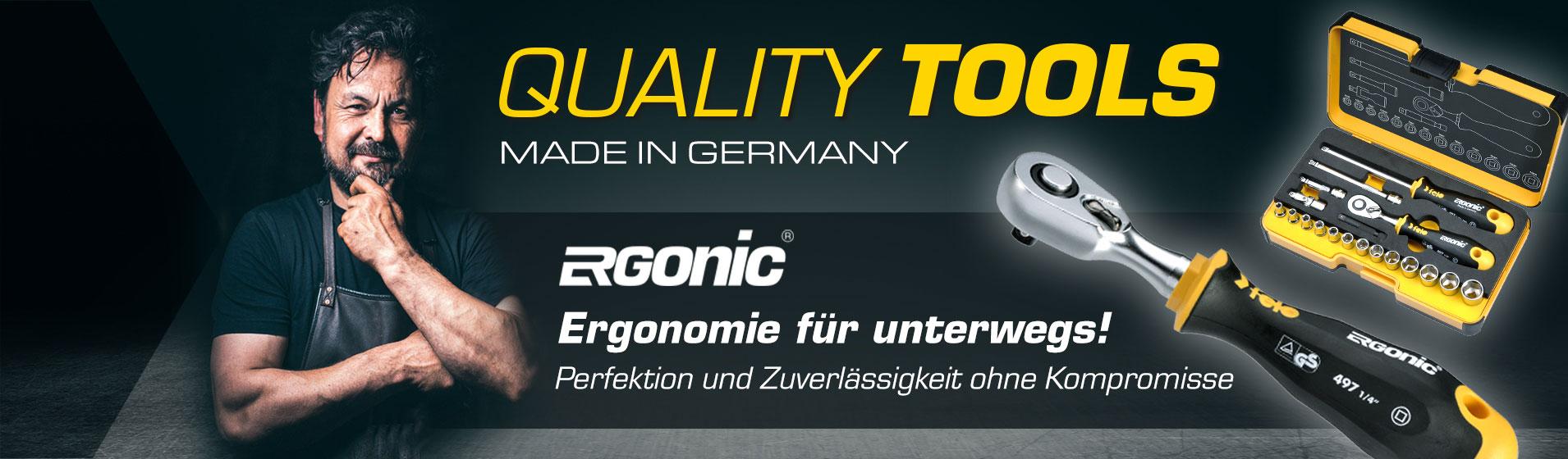 [Translate to RO:] FELO R-GO - Ergonomische Werkzeugset für unterwegs