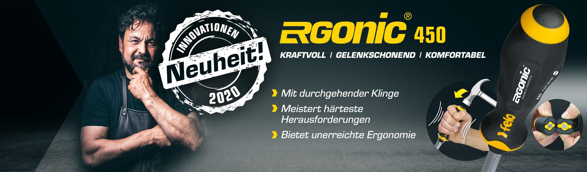 Schlagkappen-Schraubendreher ERGONIC Serie 450 von Felo