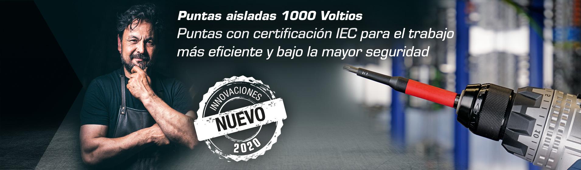 Puntas de seguridad 1.000 voltios – para un trabajo rápido y seguro en montajes y mantenimiento